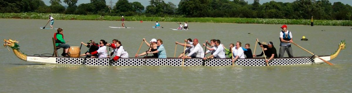 Dragon Boat Racing with the Bristol Empire Dragons