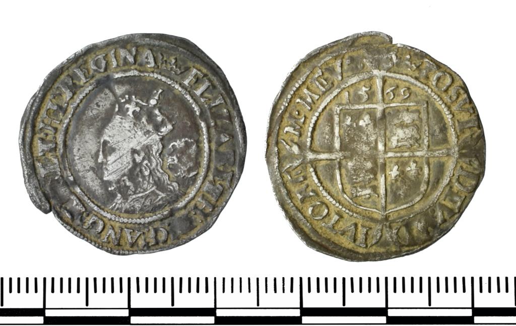 Elizabeth Sixpence 1569